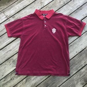 Vintage Shirts - Vintage Indiana Hoosiers polo
